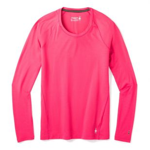 A - Smartwool Women's Merino 150 Baselayer Long Sleeve Roze