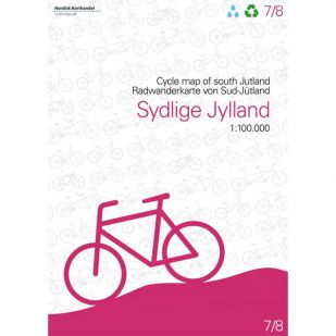 Zuid-Jutland (DK) fietskaart
