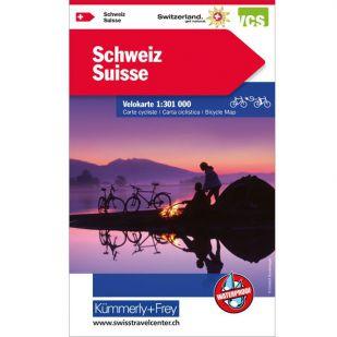 Zwitserland Fietskaart