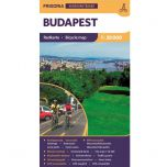 Fietskaart Boedapest - 1:30.000