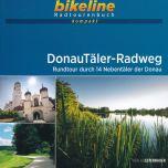 DonauTäler-Radweg Bikeline Kompakt fietsgids (2021)