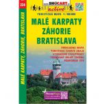 Shocart nr. 224 - Male Karpaty, Zahorie, Bratislava